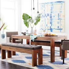 Cozy Banquette Seating Manufacturer 73 Boerum Dining Bench Café West Elm