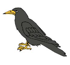 imagenes del animal urraca dibujo de cuervo pintado por urraca en dibujos net el día 28 08 10 a
