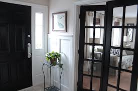 black painted interior doors why not homesfeed
