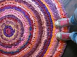 crochet rugs from sheets rugs ideas