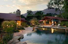 Pool In The Backyard by Backyard Landscaping Ideas Natural Pools Shaping An Alluring Retreat