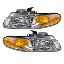 amazon com driver and passenger headlights headlamps replacement