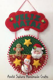 457 best decorando navidad con fieltro images on pinterest