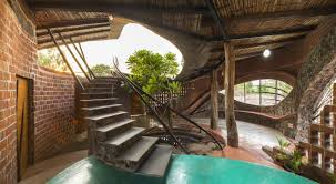 Tropical Home Decor Interior Dazzling Tropical Interior Design With Stone Staircase