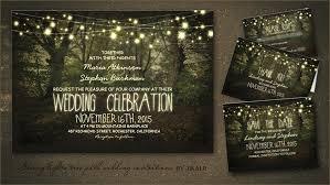 read more tree path string lights wedding invitation wedding