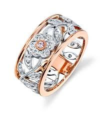 gold fine rings images Simon g 18k rose gold diamond rings designer engagement rings jpg