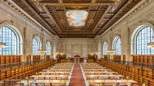 check out the new york public library u0027s beautifully restored