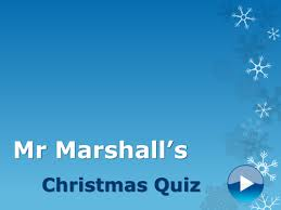 Ideas For Christmas Quizzes by Christmas Quiz By Imarshall1 Teaching Resources Tes