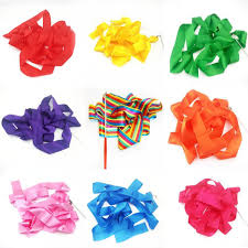 ribbon streamers kids toys artistic gymnastics ribbon streamers stage