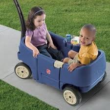 amazon black friday specials for toddlers ride on toys amazon com step2 wagon for two plus blue toys u0026 games