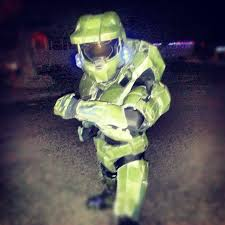 master chief 117 armor cosplay halo video game youtube