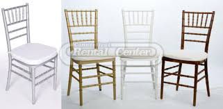 rent chiavari chairs from ct rental center