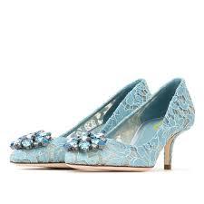 wedding shoes kitten heel light blue wedding shoes lace heels rhinestone kitten heel pumps
