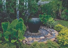 marvelous front yard landscaping ideas with fountains pictures