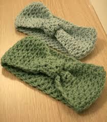 crochet ear warmer headband crochet earwarmer headbands by claireabellemakes project