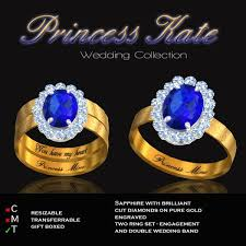 kate s wedding ring second marketplace exquisite princess kate gold ring collection