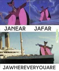 My Heart Will Go On Meme - funny pictures i believe that jafar will go on bubba