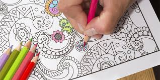 trend coloring books for grown ups