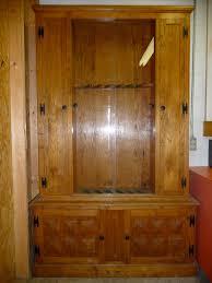 Wood Gun Cabinet Cath Easy Plans For Wood Gun Cabinet Wood Plans Us Uk Ca