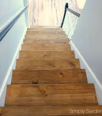 carpet to wood staircase reveal hometalk