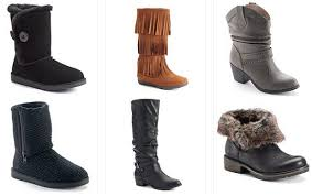 womens boots at kohls kohl s s boots 16 66 a pair or less reg 59 99