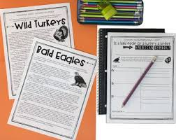 literacy unit for 4th 5th grade thanksgiving activities