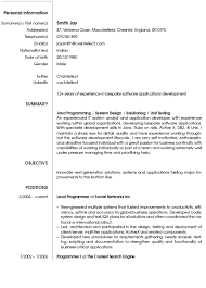 Software Developer Resume Examples by Resume Best Software Engineer Resume Cv For Research Internship