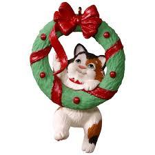 mischievous kittens wreath ornament keepsake ornaments hallmark
