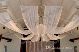 Party Chandelier Decoration by Wedding Ceiling Drape Canopy Drapery For Decoration Wedding Fabric