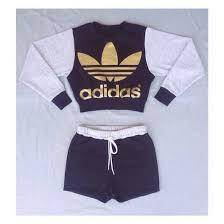 adidas crop top sweater black adidas jumper shorts crop top gold grey giftryapp my