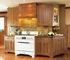 mission style oak kitchen cabinets the tile cabinets and stove craftsman style