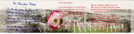 flanders fields poster veterans day poster display john mccrea