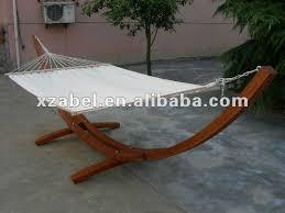 cheap wooden hammock leisure swing garden furniture shop for sale