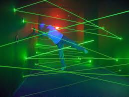 Lazer Light Lazer Maze Navigate Through A Laser Light Obstacle Course Think
