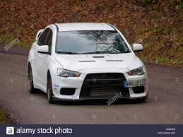 mitsubishi cars 2009 2009 mitsubishi evo x performance car with lowered suspension