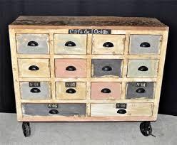 apothecary dresser chest apothecary dresser vintage retro designer chic rustic re