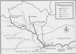 Map Of Kentucky Counties Hiram Yancey Birth Place