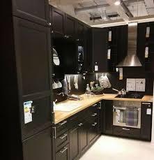 ikea black brown kitchen cabinets ikea kitchen cabinet doors home decor