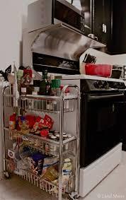 narrow storage cabinet for kitchen 27 lifehacks for your tiny kitchen