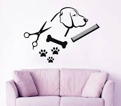 online get cheap dog wall murals aliexpress com alibaba group hot sale simple style wall sticker with pet dog silhouette and prints wall murals home special