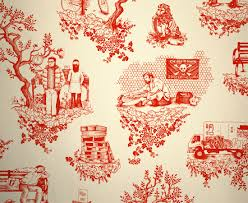 an unconventional modern toile by artist dan funderburgh for