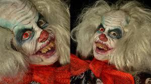 halloween makeup tutorial diy evil clown scary clown make up