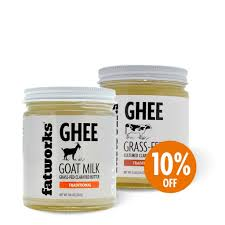 combo pack grass fed goat milk ghee 8 oz u0026 organic grass fed