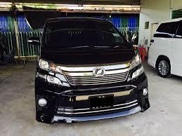 Toyota Vellfire U2013 Trusted Car Rental In Sabah Kereta Sewa Sabah