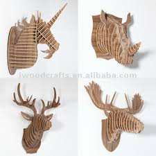 wooden animal wall wood moose decoration for wall deer buy wall moose