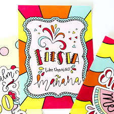 hand lettered summer coloring pages printable crush