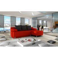 canapé angle droit en tissu savanah noir et pvc viper dya modern salon taranto angle savana noir 250cm x 85cm x 145cm achat