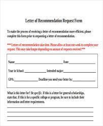 39 free recommendation letter templates free u0026 premium templates