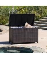 patio furniture cushion storage boxes winter deals