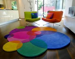 Round Modern Rug by Bubbles Contemporary Modern Area Rugs By Sonya Winner
